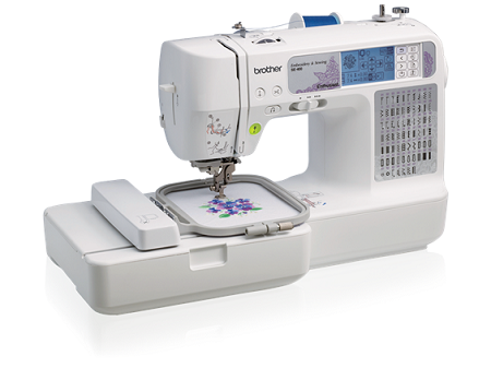 Brother SE400 Combination Embroidery Machine